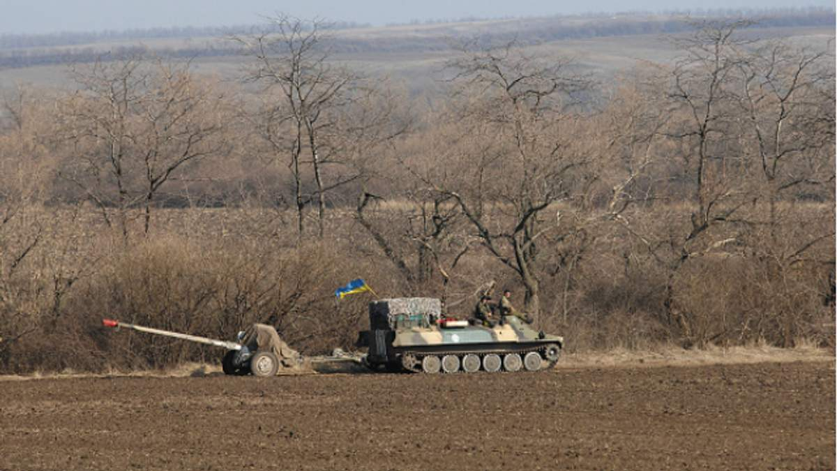 В Дебальцево силы противника превысили украинские в 6 раз, — танкист
