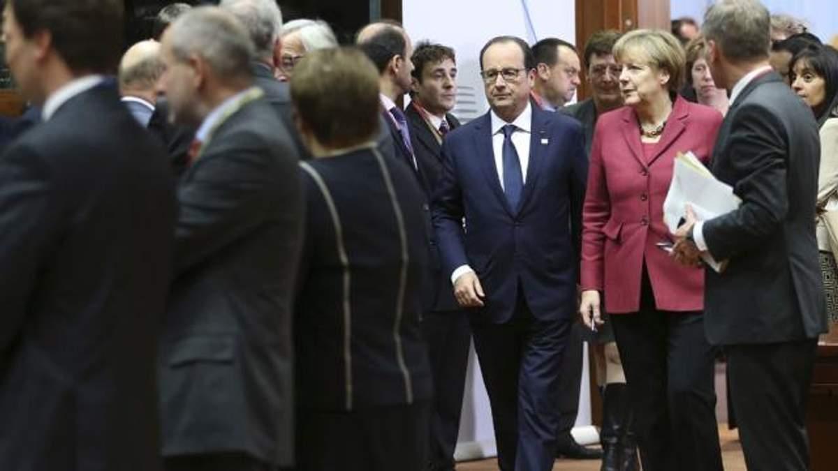 Франсуа Олланд і Ангела Меркель