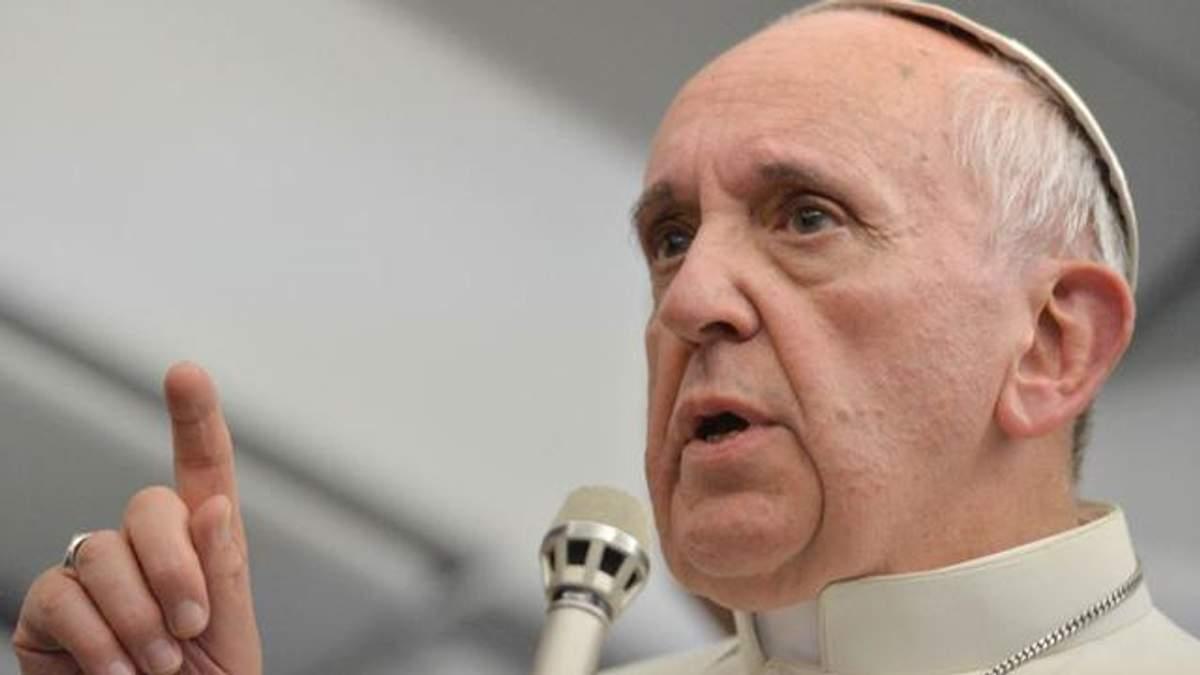 Папа Франциск на Пасхальной мессе просил Иисуса о мире в Украине