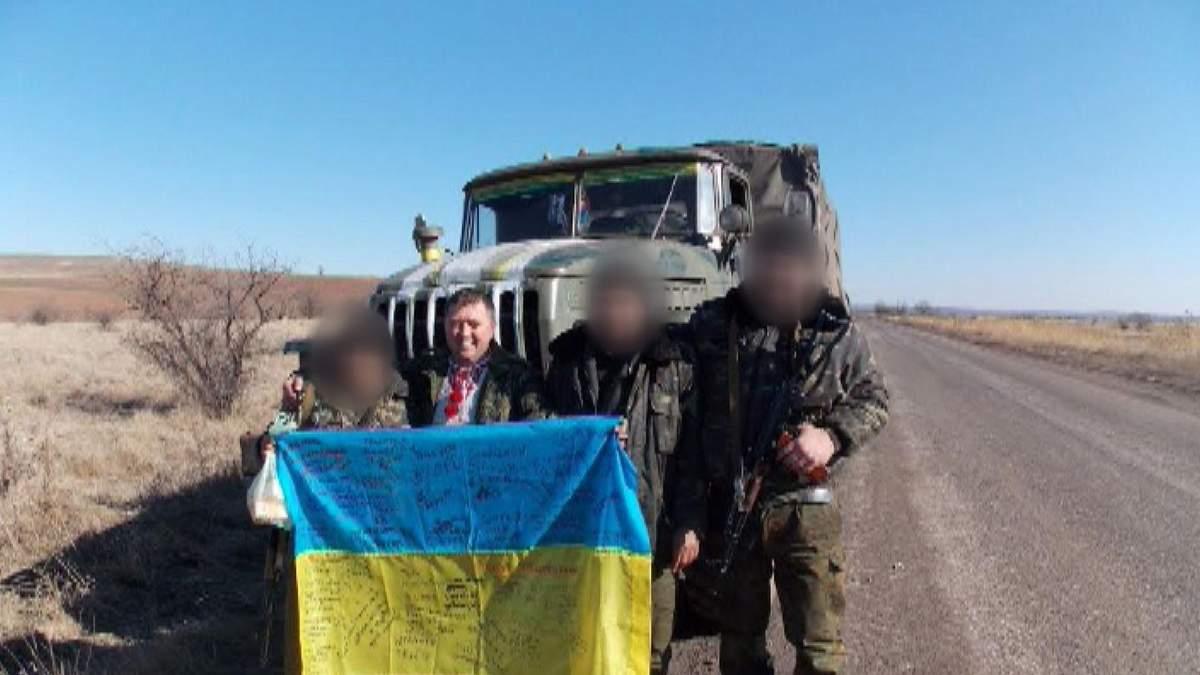 Пленного волонтера сепаратисты пытали током