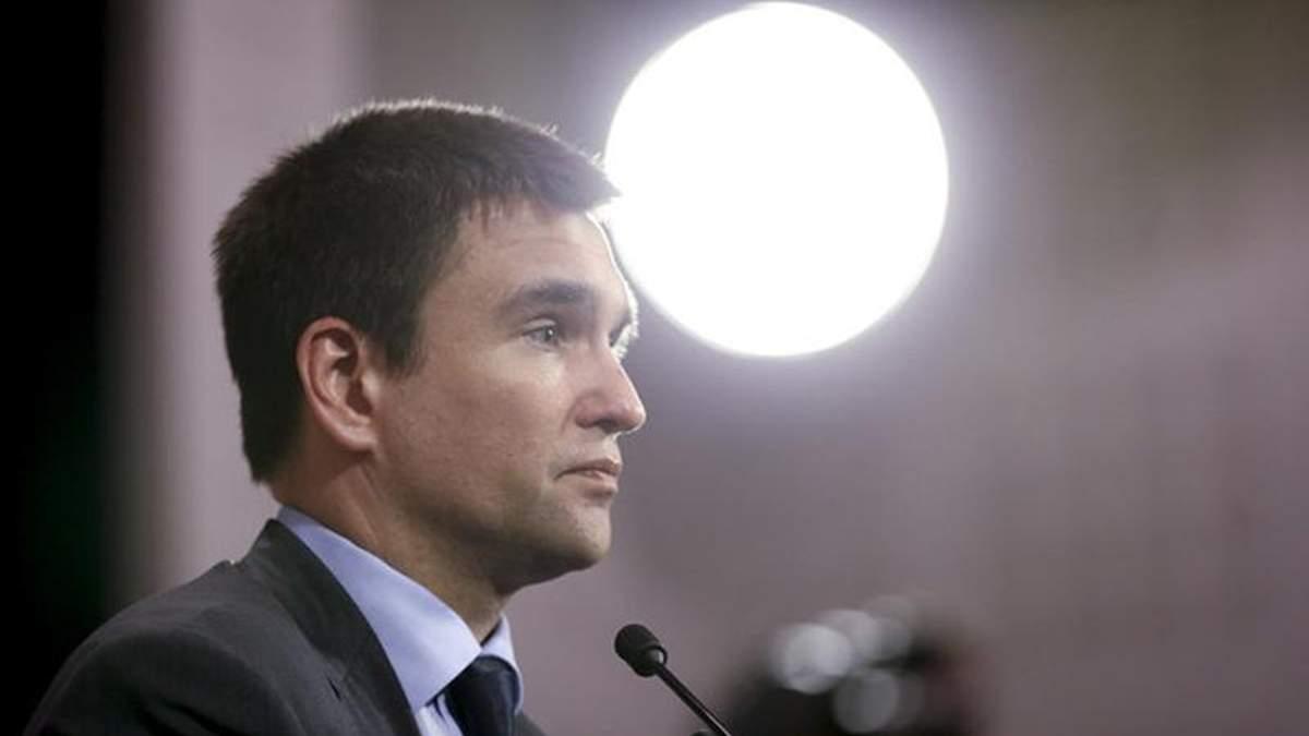 У Берліні Клімкін підняв тему про введення миротворців на Донбас