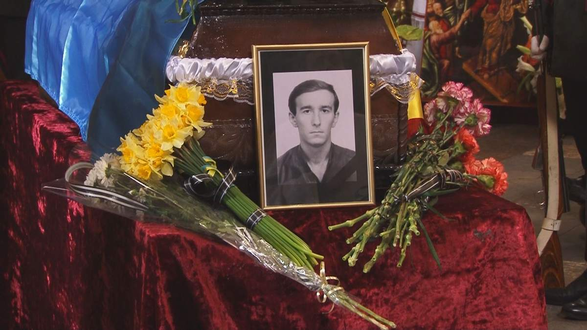 Во Львове похоронили бойца АТО Александра Биянова