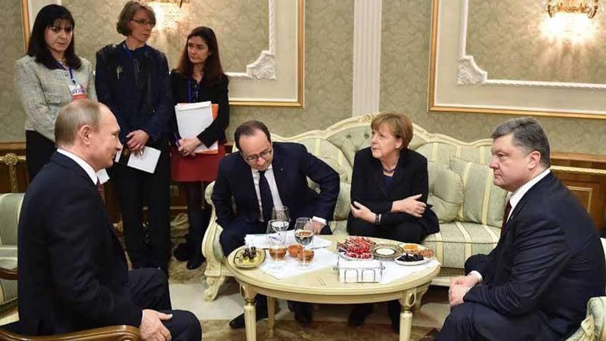 Путин согласился с размещением миротворцев на Донбассе