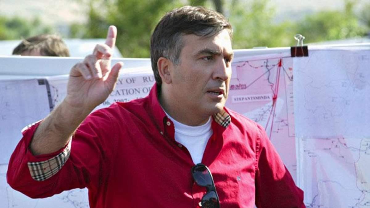 Молдова хочет переманить Саакашвили из Украины