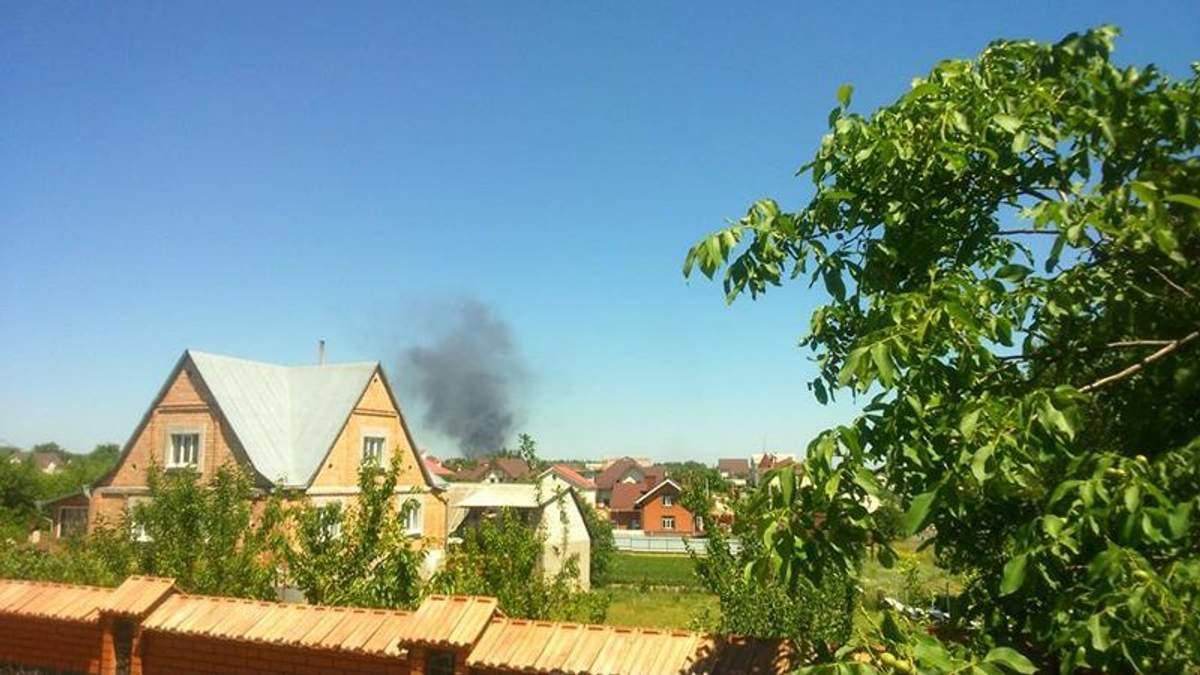 На нафтобазі під Васильковом відновилась пожежа