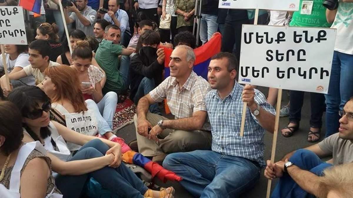 """Новий """"Майдан"""": Як протестує Вірменія"""