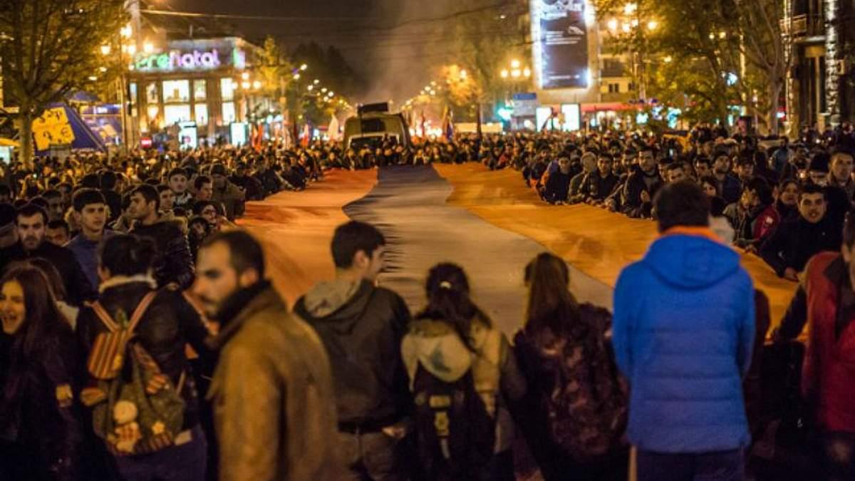 Двоє мітингарів у Вірменії розпочали голодування