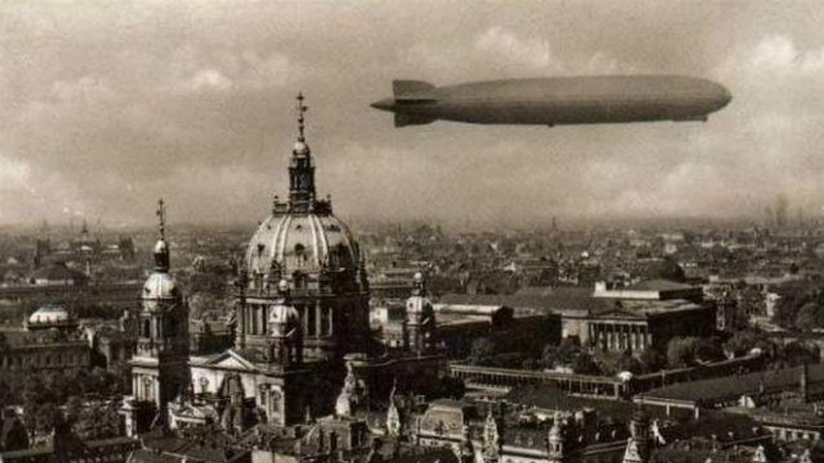 Как происходил первый в мире полет дирижабля