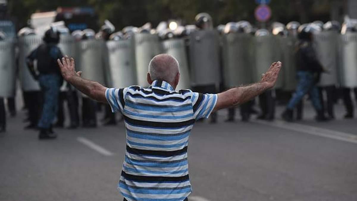 """Армянскому """"Майдану"""" снова угрожают разгоном"""