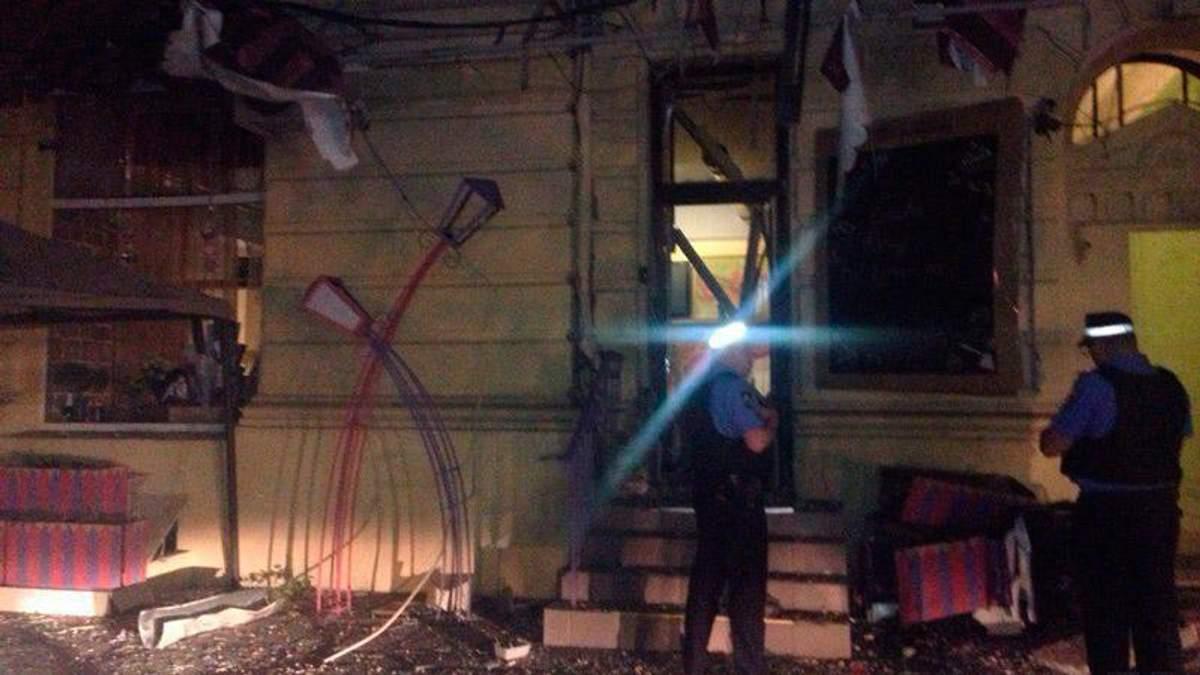 В центре Одессы взорвалось кафе