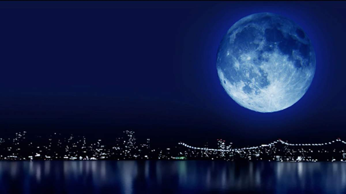 Украинцы увидят голубую луну
