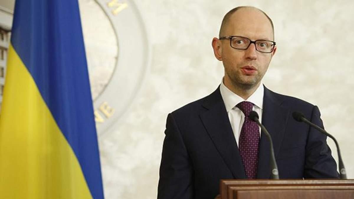 Яценюк объяснил, почему не собирается уходить в отставку