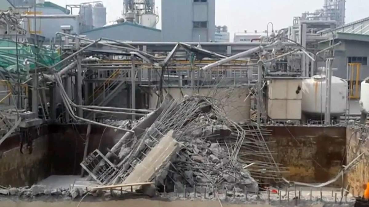 У Південній Кореї на хімзаводі стався вибух, є жертви