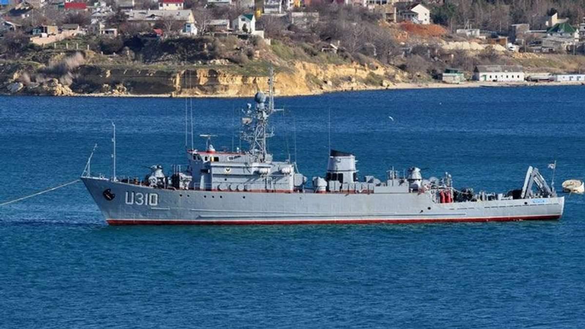 У  Міноборони назвали цифру полонених кораблів у Криму