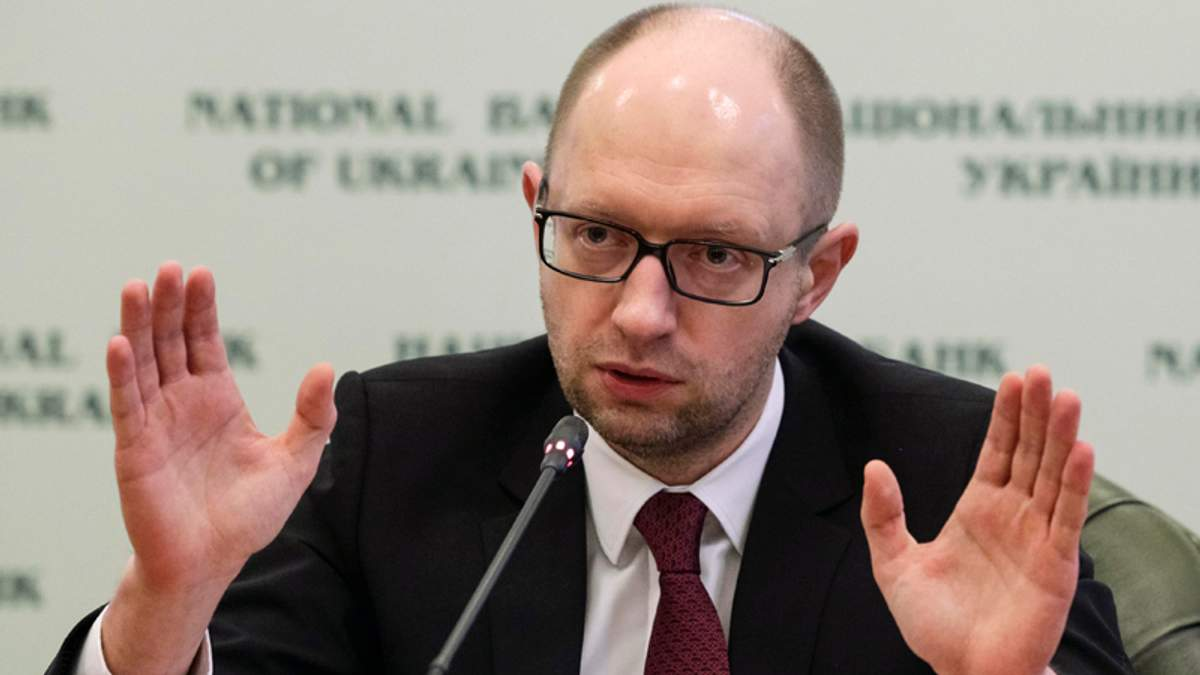 Яценюк звинуватив Мінінфраструктури в окозамилюванні