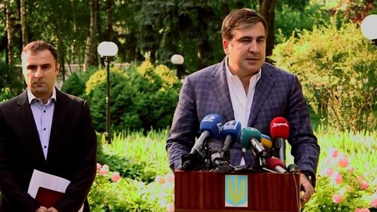 Саакашвілі не зупиняється: тепер в Одесі ще й суддівський скандал