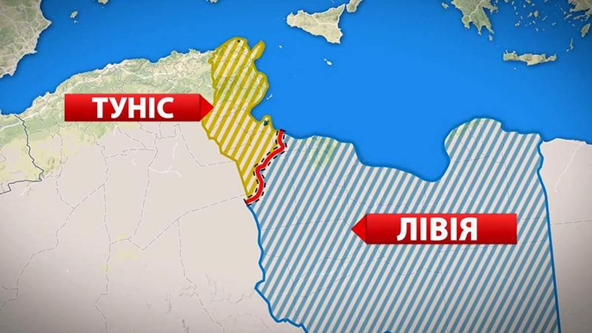 """Туніс захищатиметься стіною від """"Ісламської держави"""""""