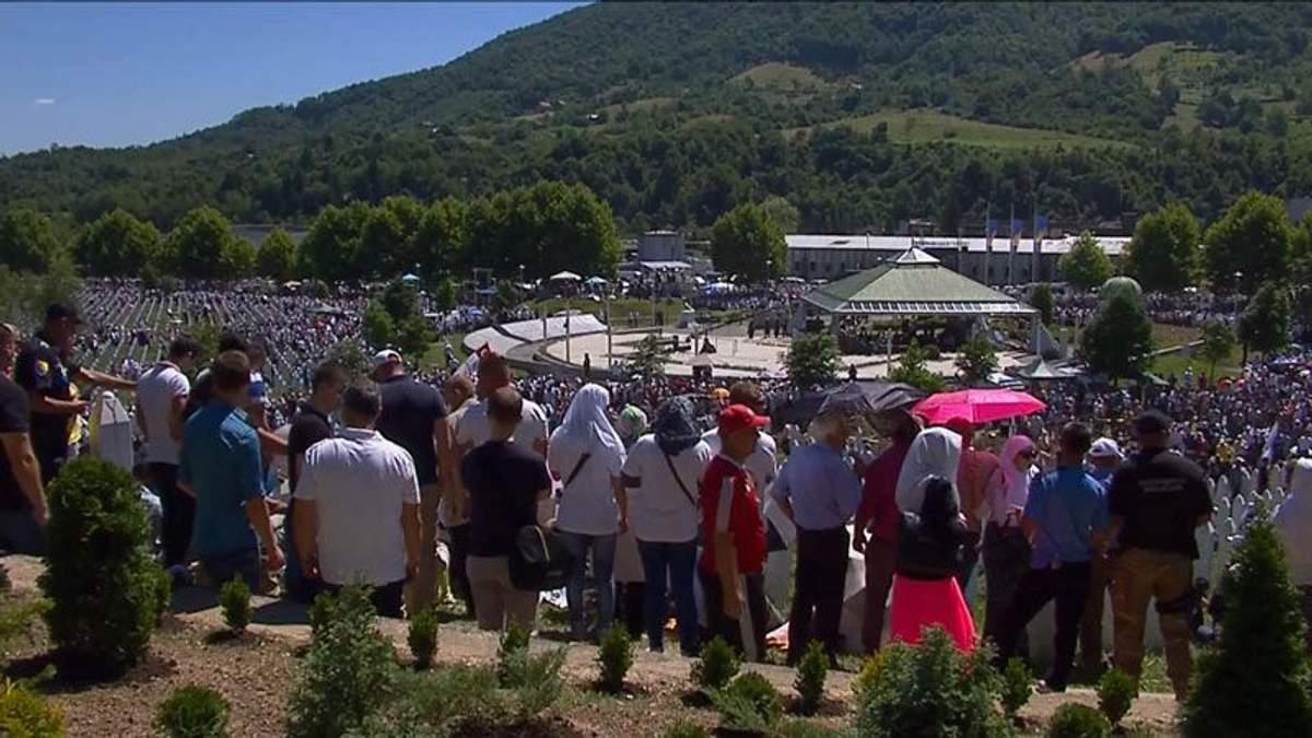 У Боснії згадують жертв геноциду