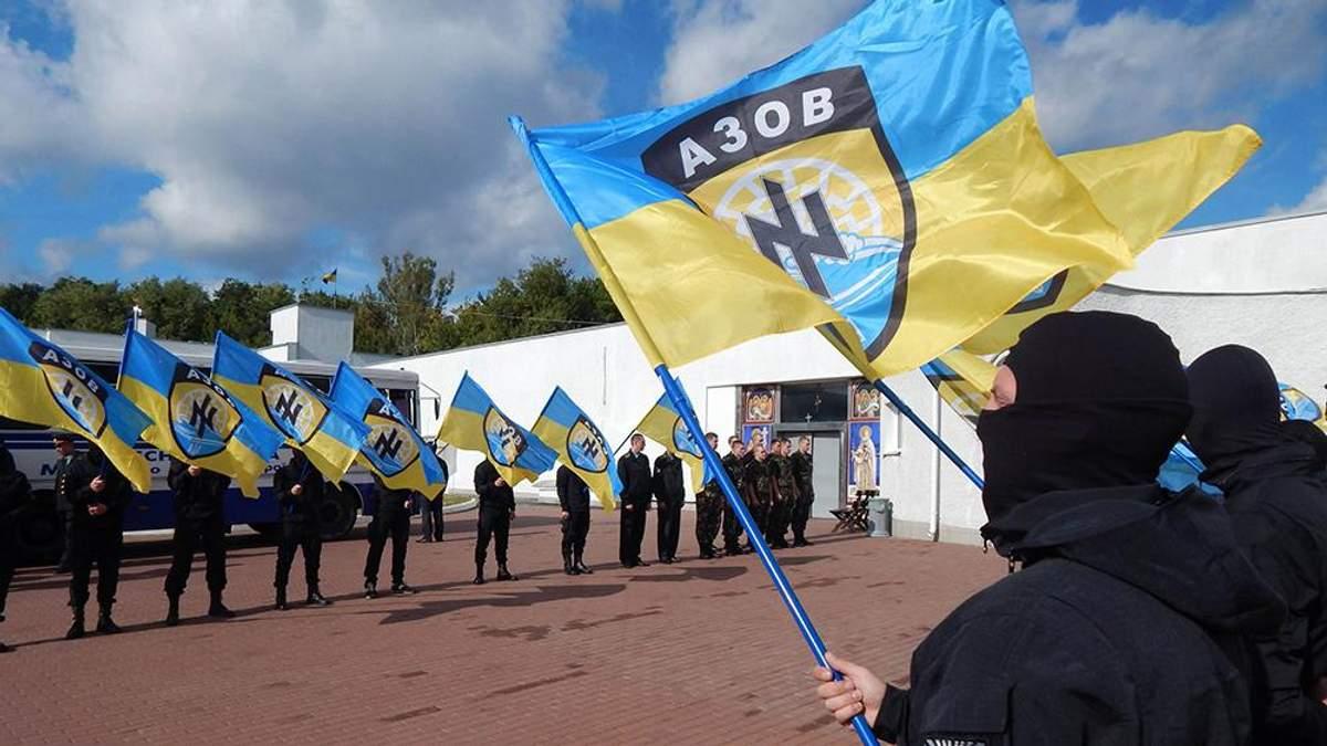 """""""Азов"""" дистанціювався від сторін конфлікту в Мукачевому"""
