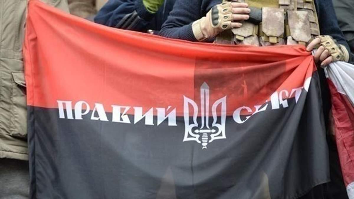 """Руководство """"Правого сектора"""" призывает не прекращать протесты за отставку Авакова"""