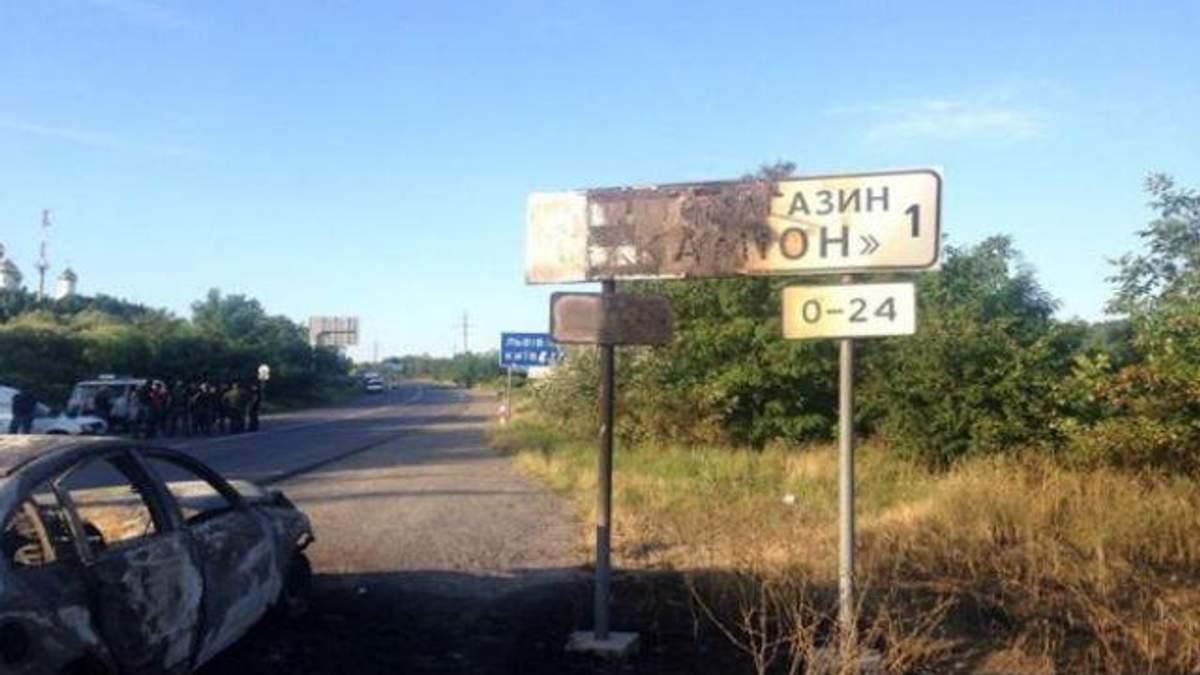 """В Мукачевому застосували зброю в рамках закону, — """"Правий сектор"""""""