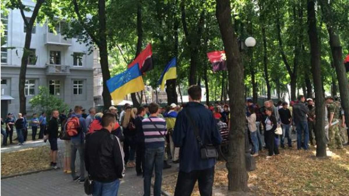 """""""Правий сектор"""" у Харкові провів ходу з вимогою відставки Авакова"""