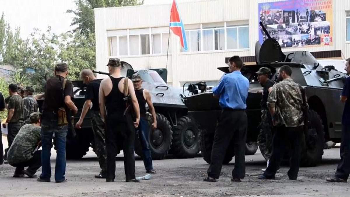 В Донецк прибыло около двух тысяч наемников