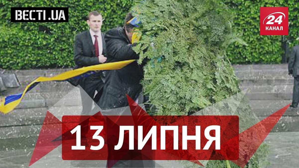 Вєсті.UA. Вимоги Януковича до України, українці висловлюють підтримку сексуальній поліцейській