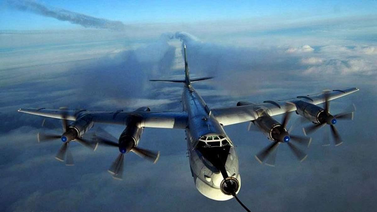 Росія втратила стратегічний бомбардувальник поблизу Китаю
