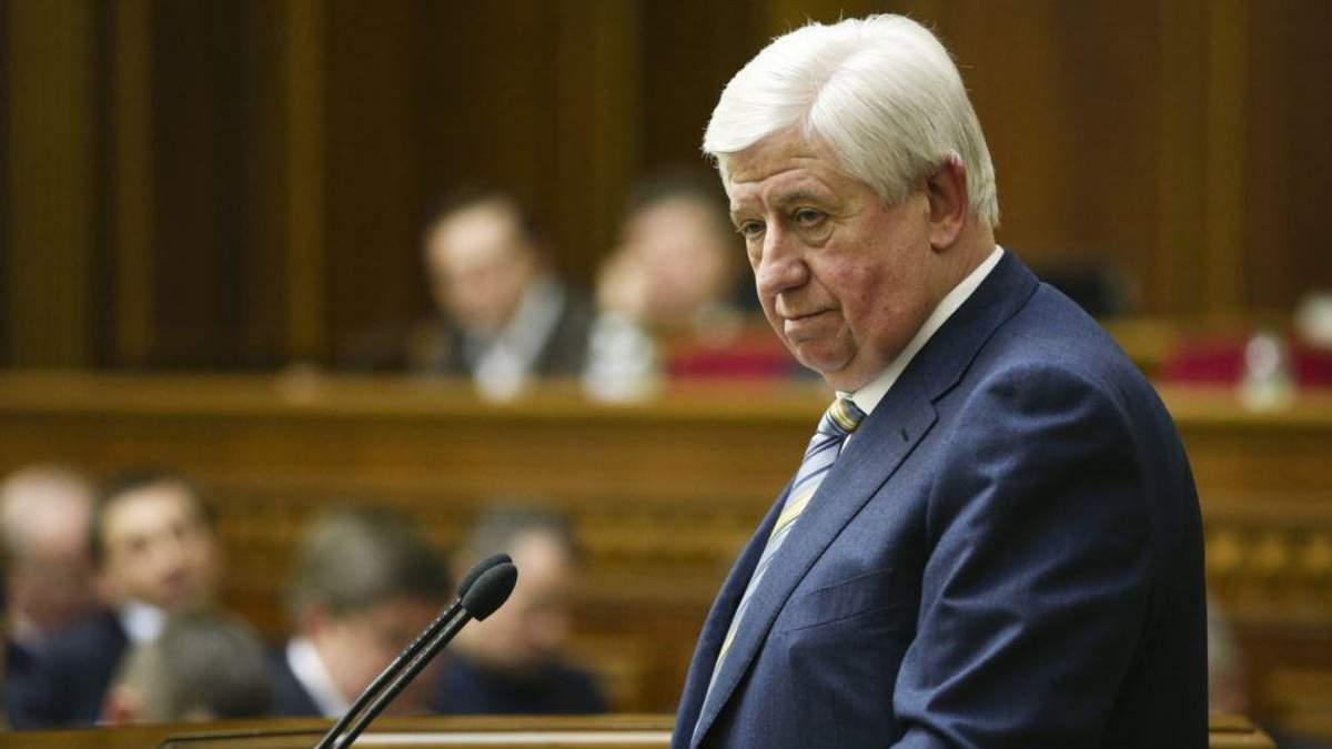 Шокін заперечує будь-який тиск на прокурорів