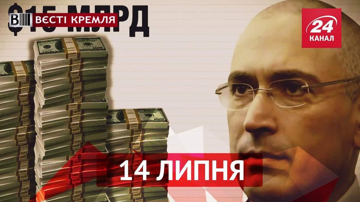 "Вести Кремля. ""Олигархи"": Михаил Ходорковский"