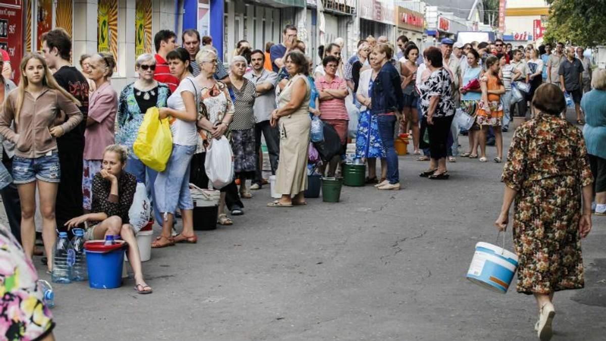 Донбасу загрожує спалах інфекційних захворювань через нестачу води