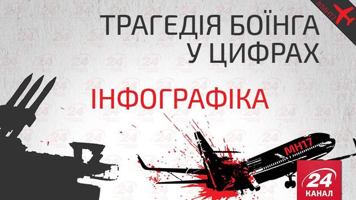Сбитый Boeing MH17 в цифрах: инфографика