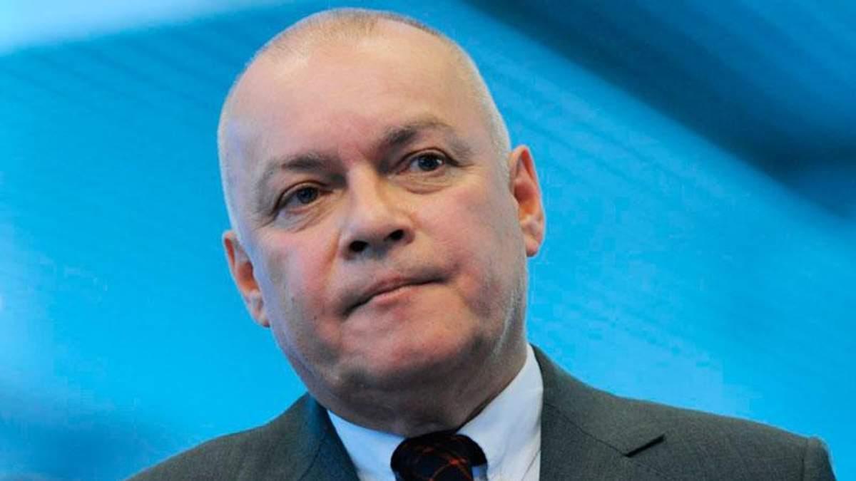 Киселев обиделся на Facebook после своего провала