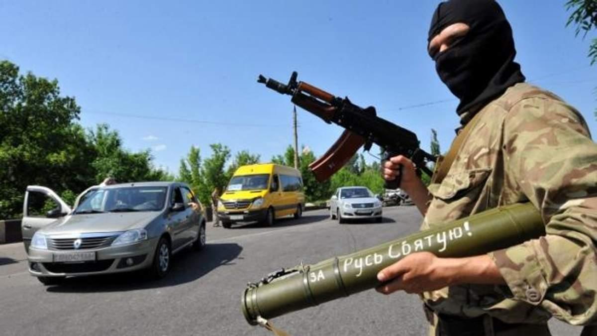 На Луганщині найманців набирають за оголошеннями на вулицях