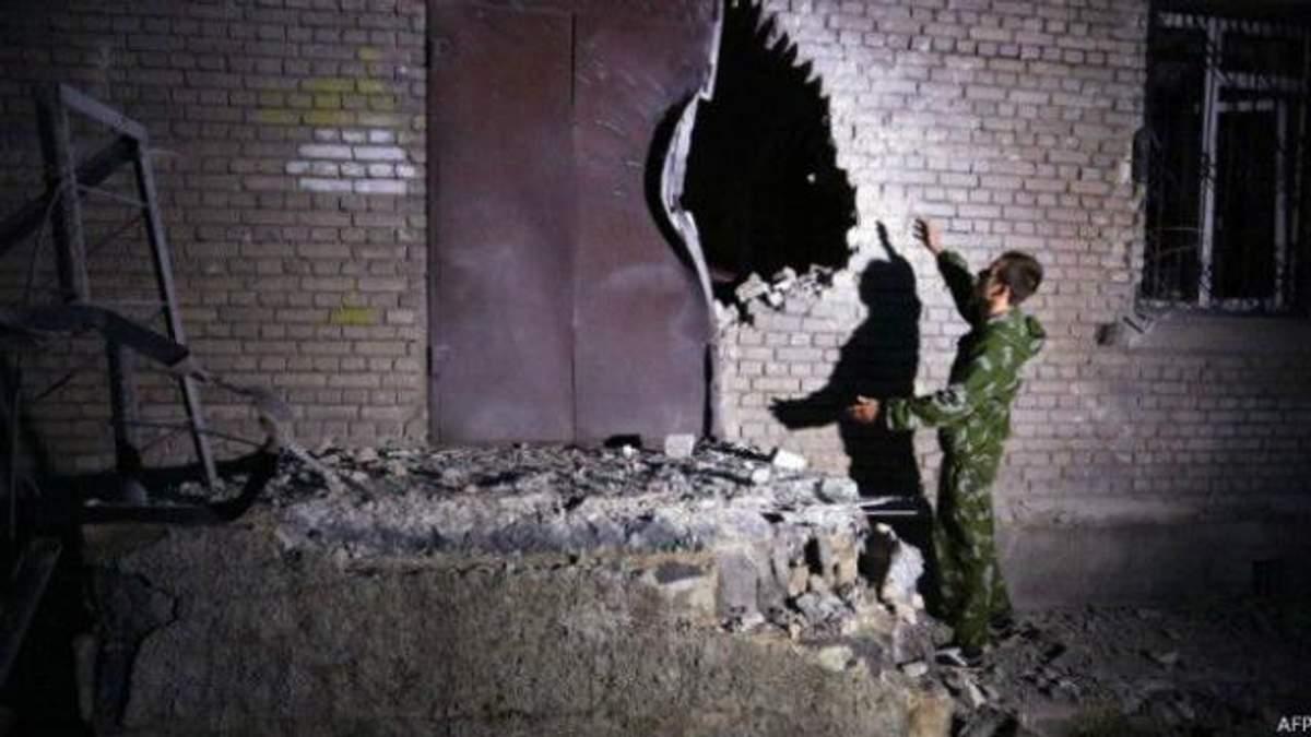 Штаб АТО обнародовал доказательства, что Донецк накануне обстреляли именно боевики