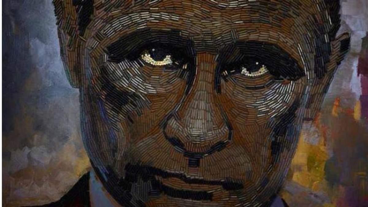 Украинская художница показала настоящее лицо войны, усеянное гильзами