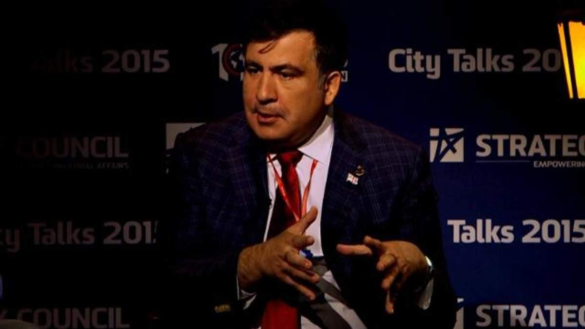 Саакашвили имеет компромат на Коломойского
