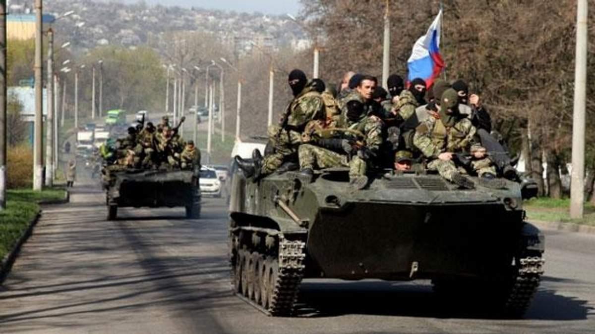 Четыре группы тяжелой техники врага работают под Донецком, — Тымчук