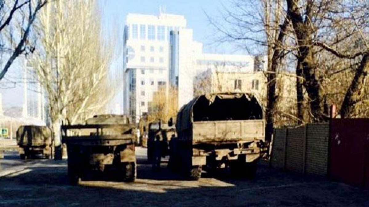 Под Донецком готовятся к мощному нападению террористов