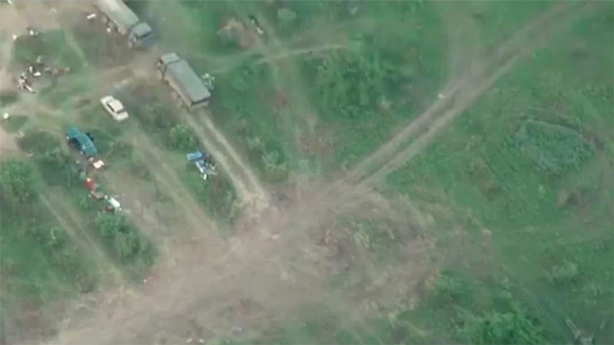 Террористы позорно бежали с базы, которую показали на YouTube
