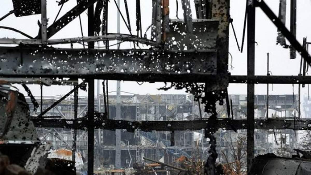 Как сегодня выглядят руины донецкого аэропорта