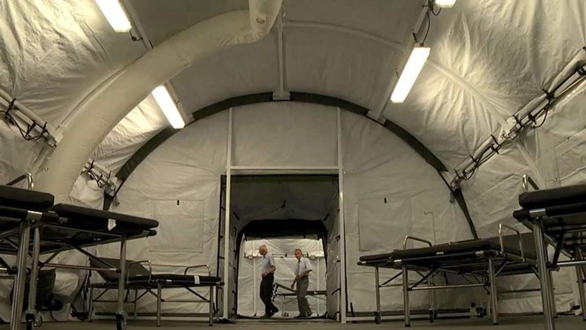 Военный передвижной госпиталь из Канады поедет в АТО