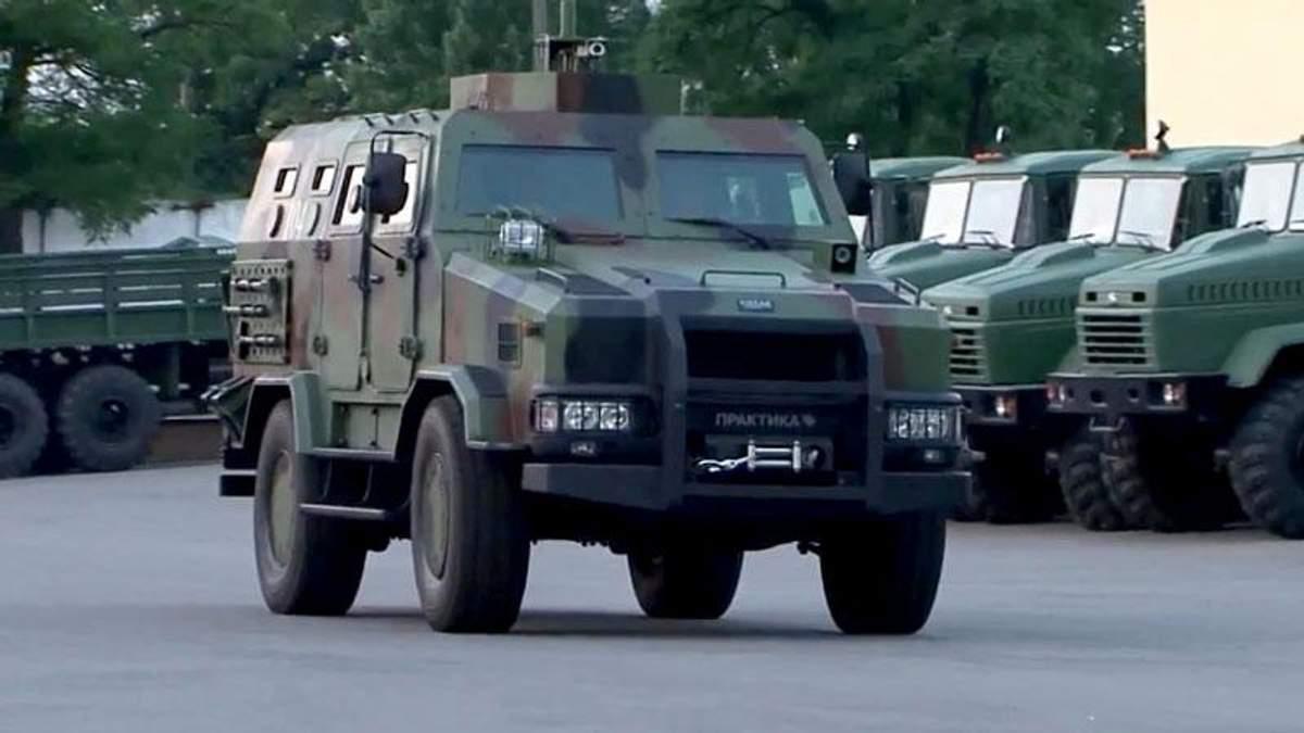 """Пограничники тестируют новый бронированный джип """"Козак-2"""""""