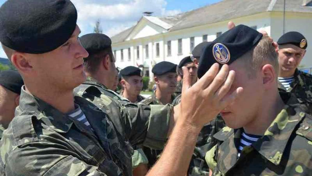 """Неподалеку от Широкино службу будут нести украинские """"черные береты"""""""