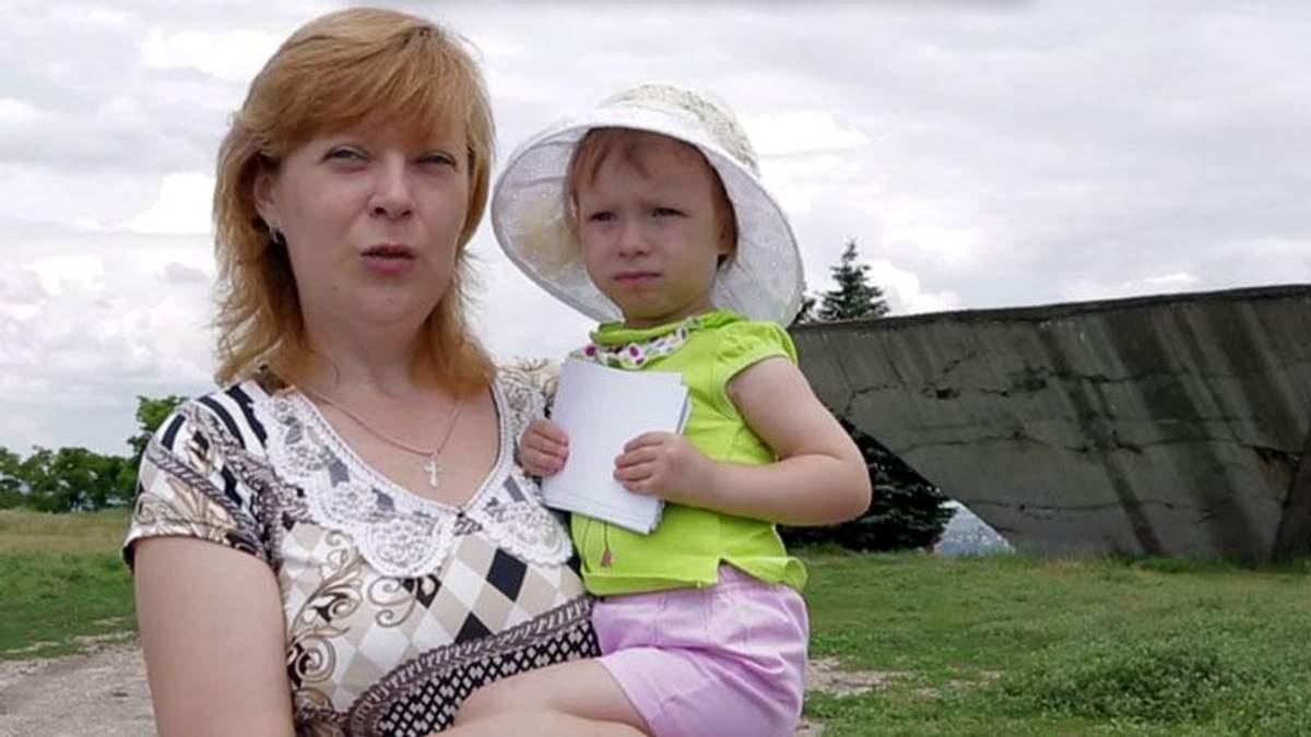 Переселенка из Донбасса