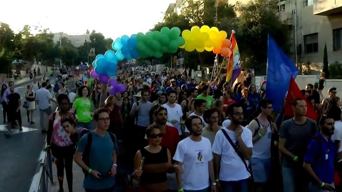На гей-параде в Иерусалиме ультраортодокс ранил 6 человек