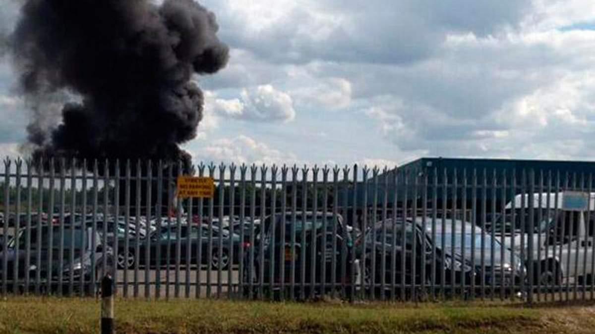 Літак розбився у Британії