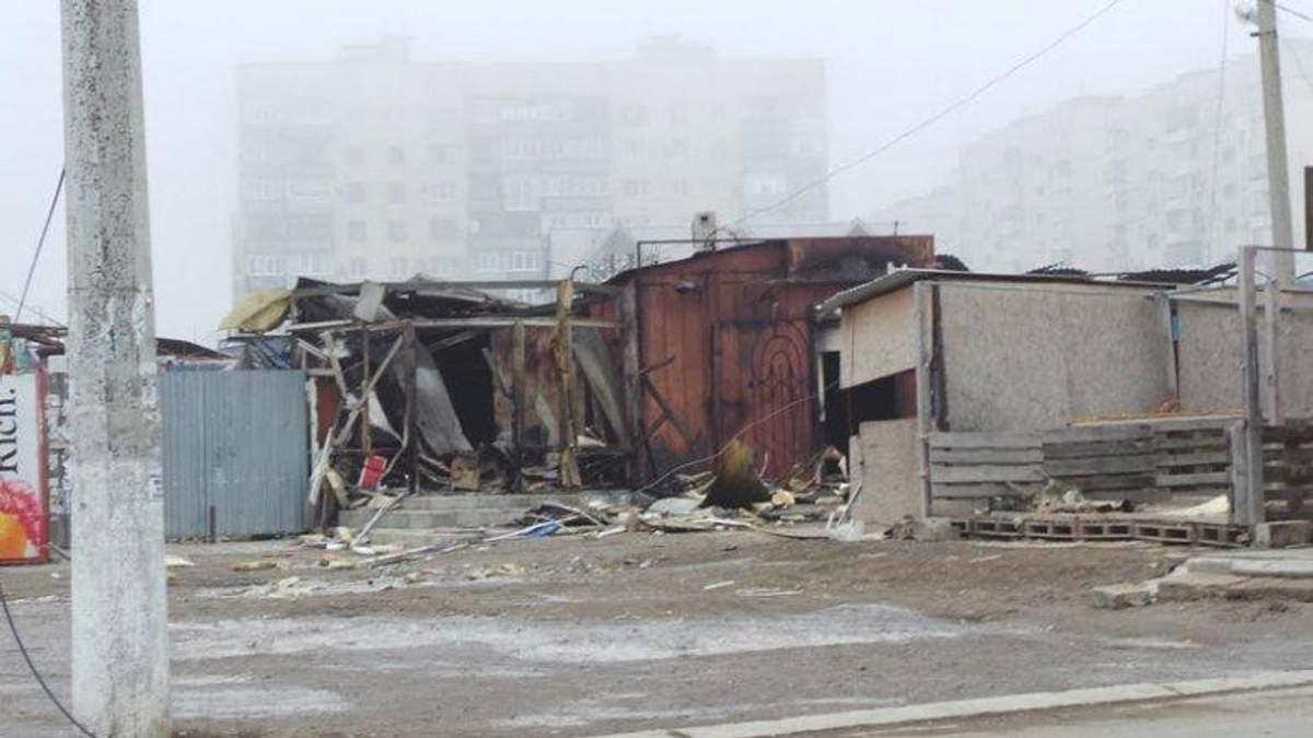 Мариуполь после обстрела террористами