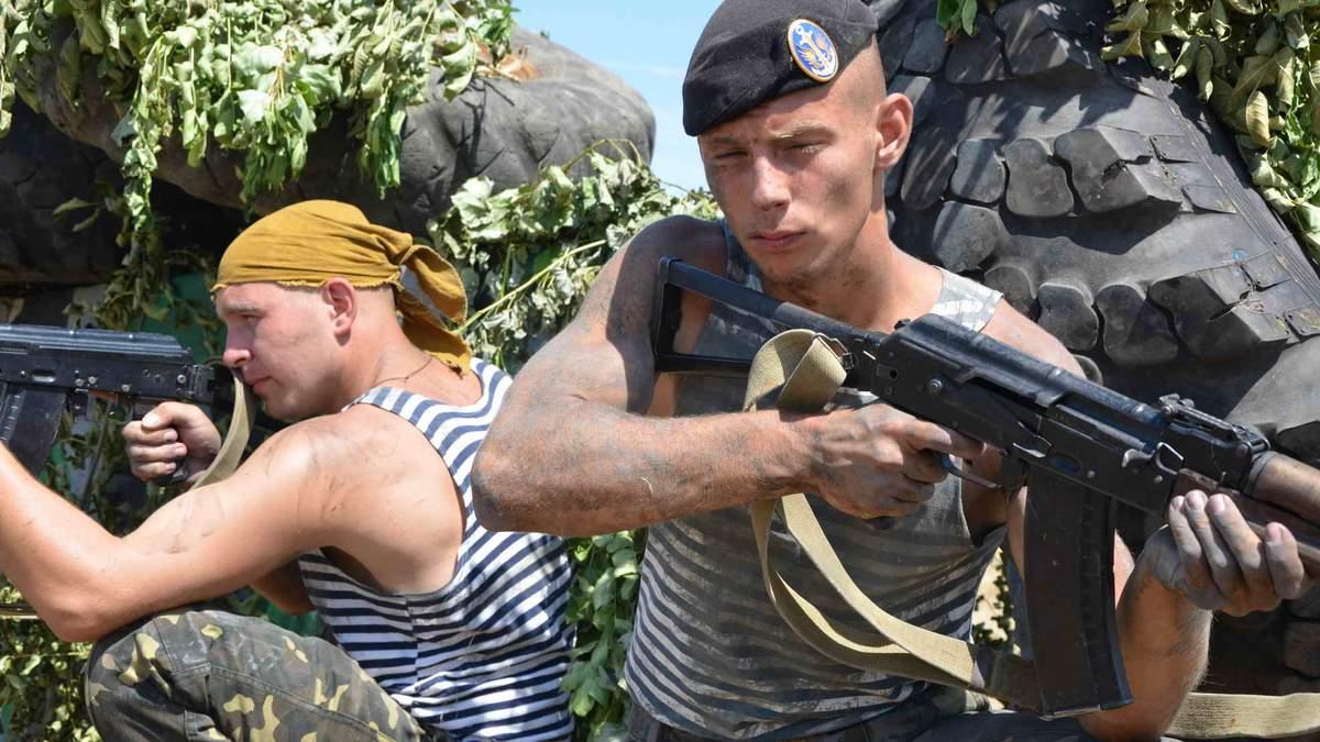 В Генштабе рассказали, кто удерживает первую линию обороны в зоне АТО